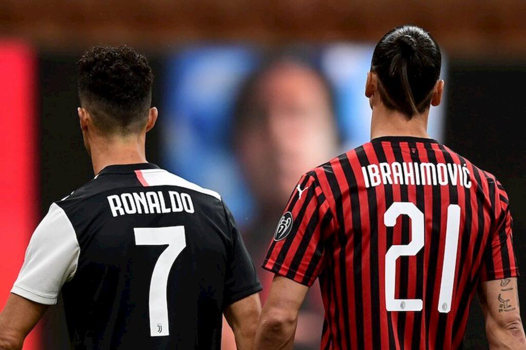 Cristiano Ronaldo x Ibrahimovic. Qual é o melhor jogador?